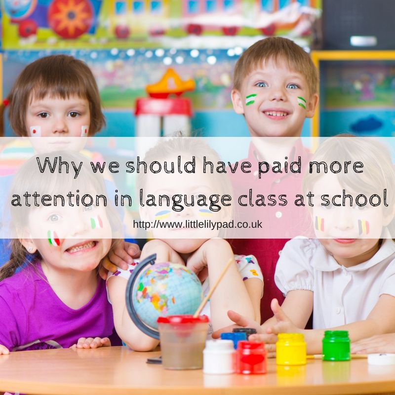 Why we should have paid more attention in language class at school