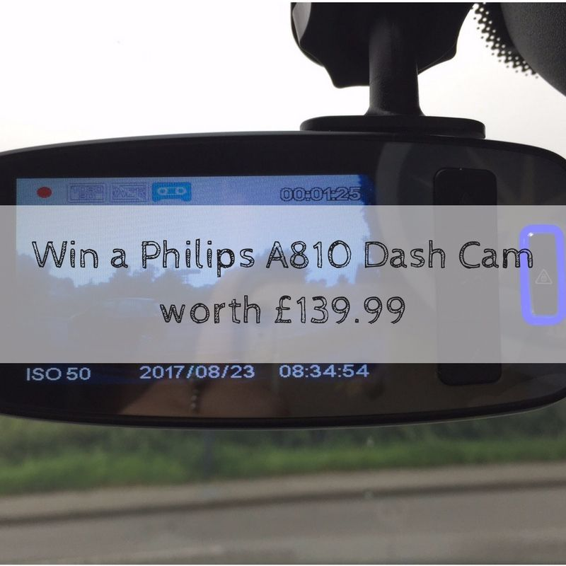 Win a Philips A810 Dash Cam worth £139.99 (1)
