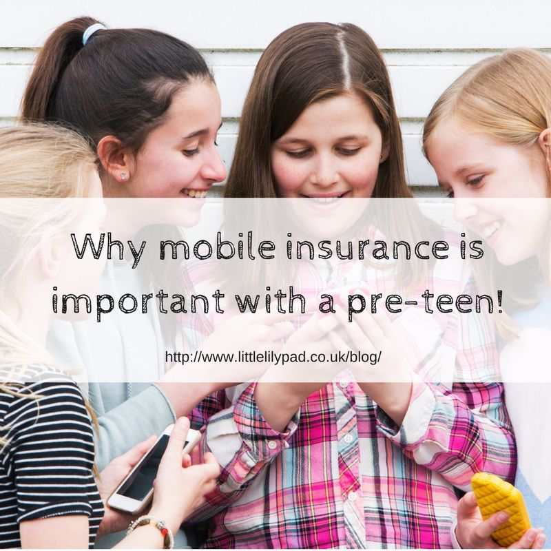 LLP - Why mobile insurance is important with a pre-teen!