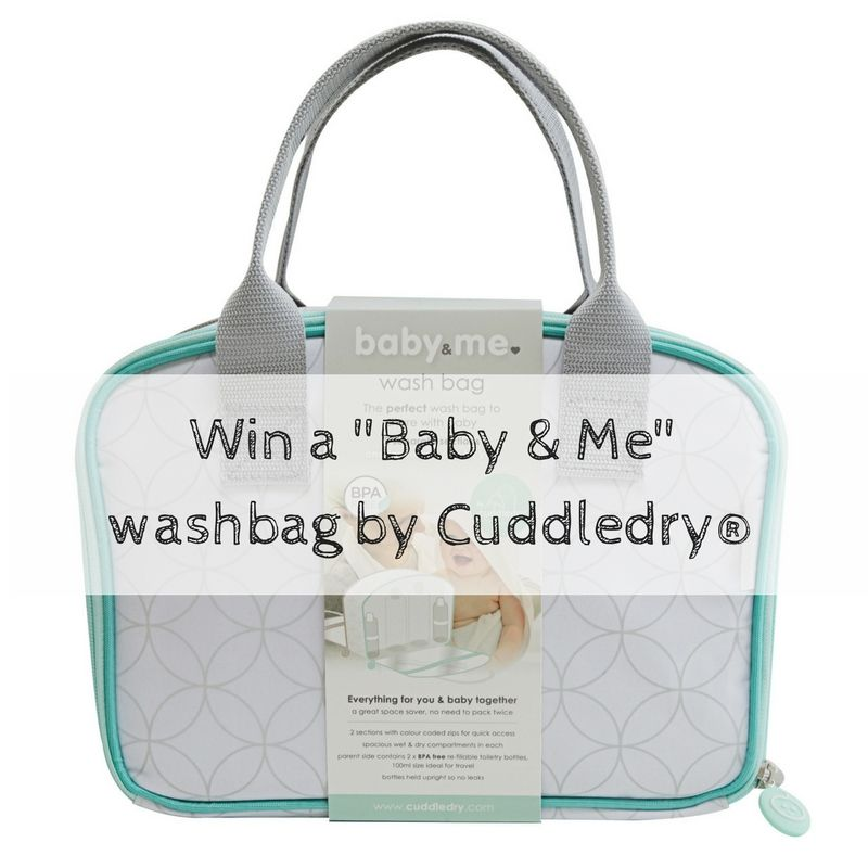 LLP - Win a _Baby & Me_ washbag by Cuddledry®