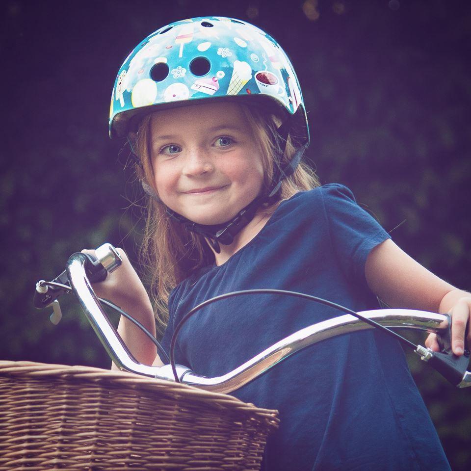 Mini Hornit Helmet girl