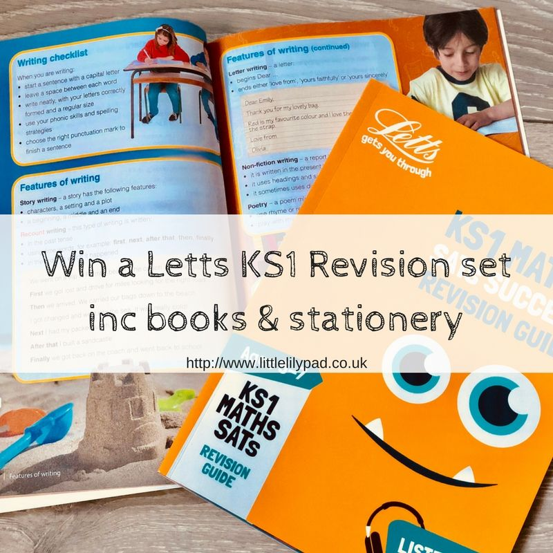 Win a Letts KS1 Revision Set