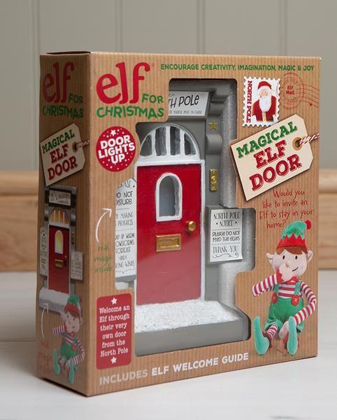 Elf for Christmas Door