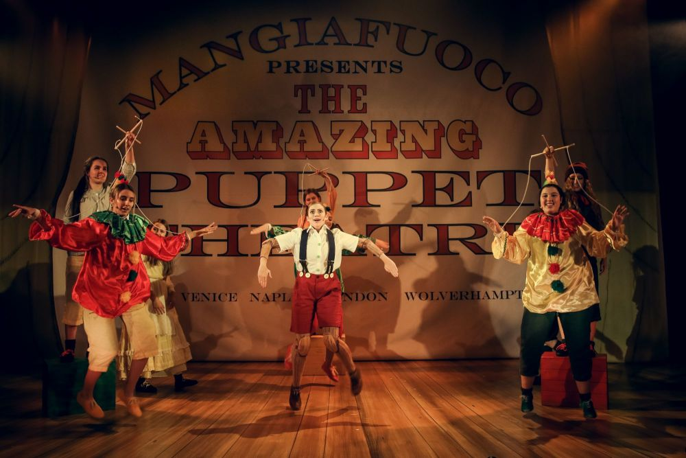 Pinocchio at The Old Rep. Photo by Anda Latsa