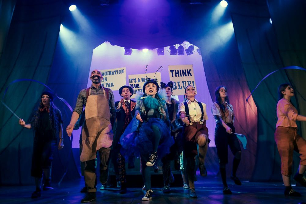 Pinocchio at The Old Rep. Photograph by Anda Latsa