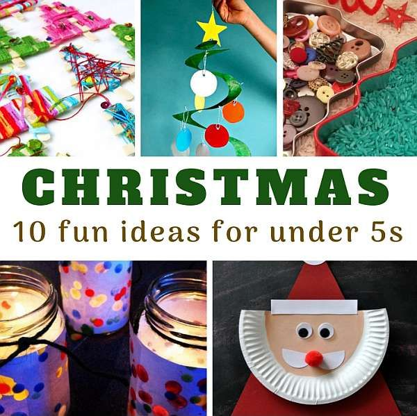 15 - Fun Ideas for the Christmas Under 5s - square