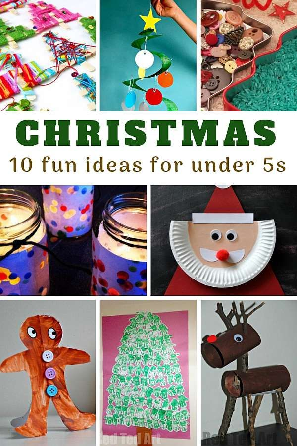 15 - Fun Ideas for the Christmas Under 5s - pin