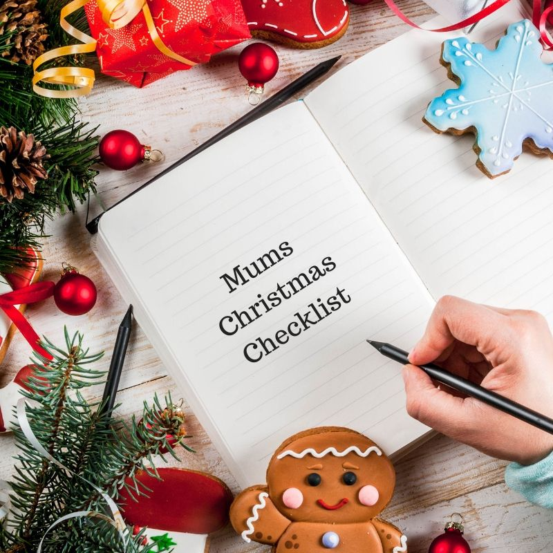 Mums Christmas Checklist