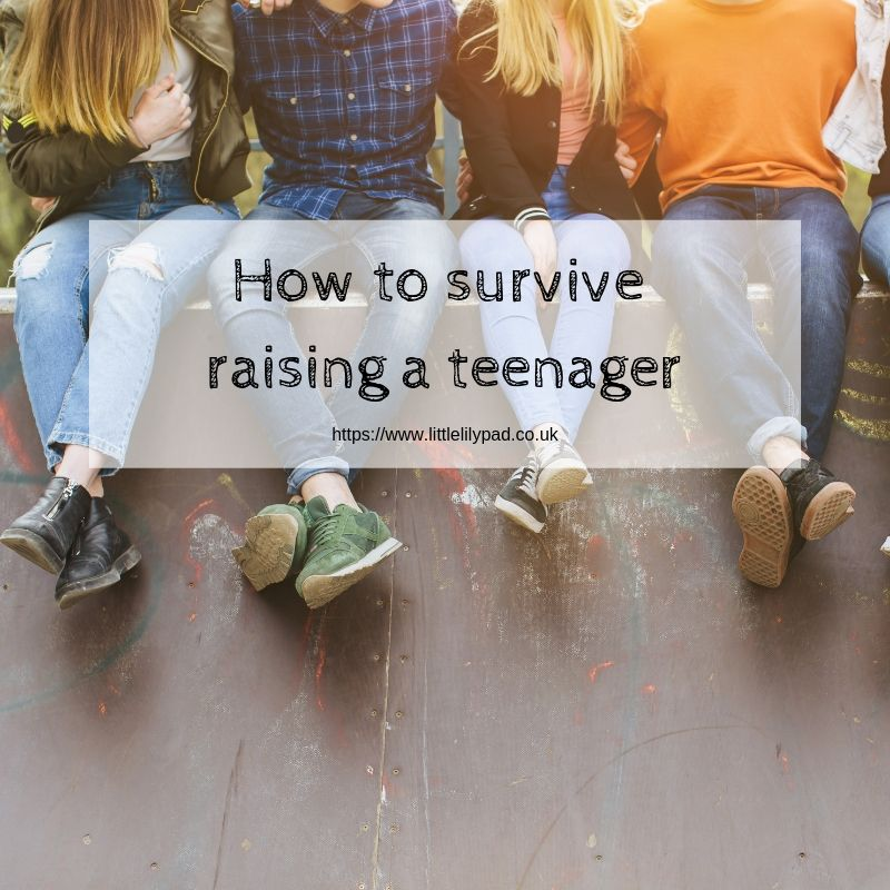 How to survive raising a teenager