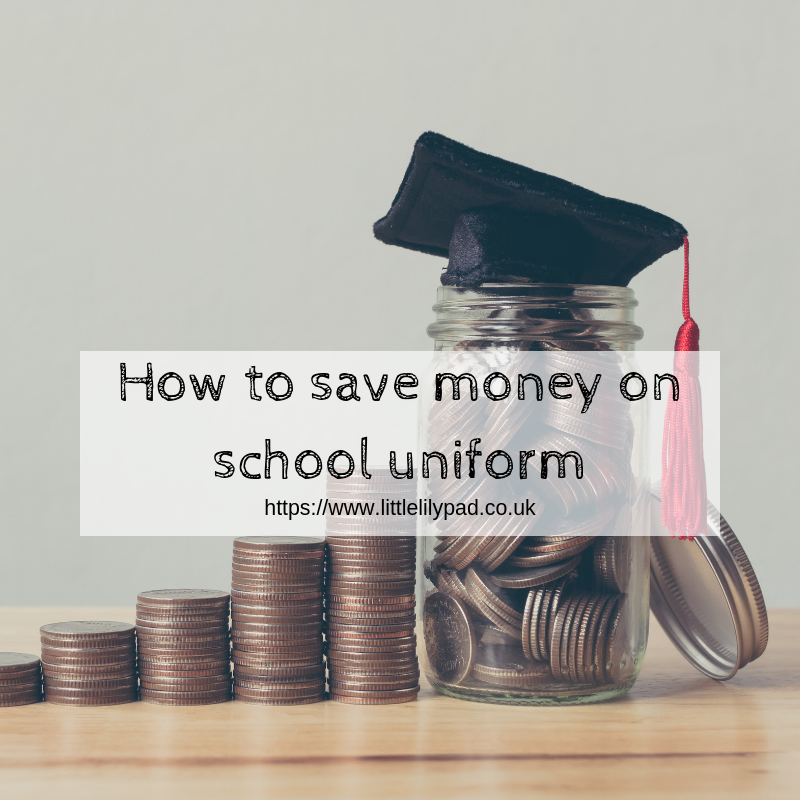 How to save money on school uniform