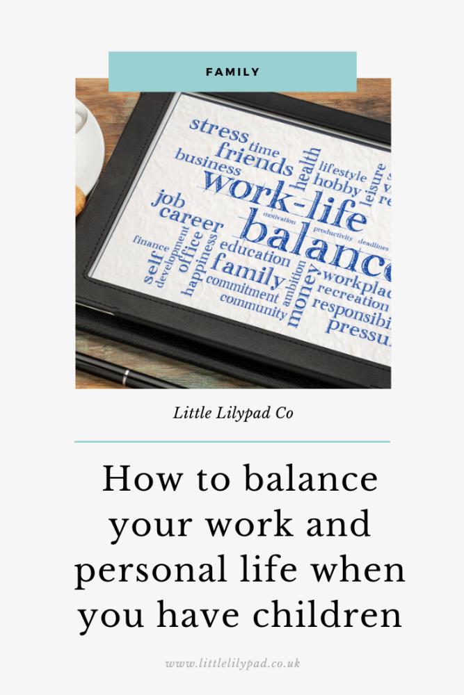 PIN - work life balance