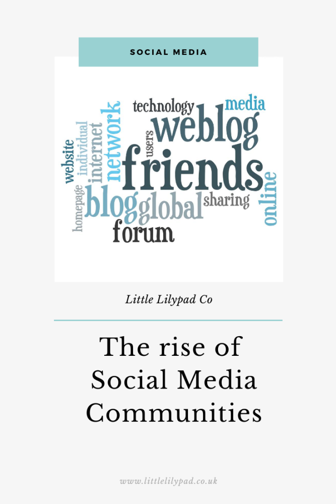 PIN - The rise of Social Media Communities