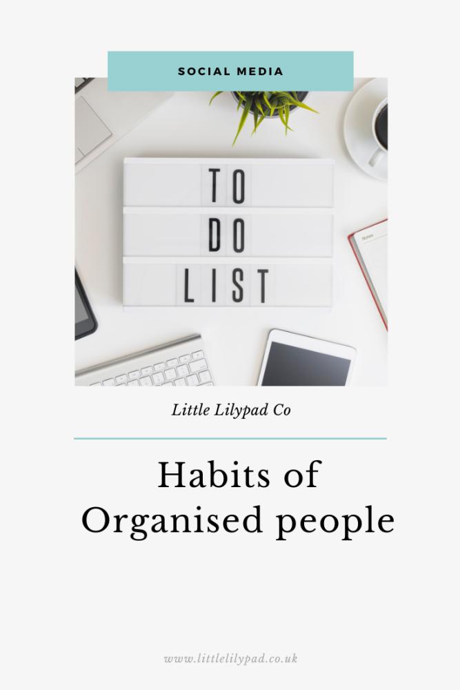 PIN - Habits of Organised people (1)
