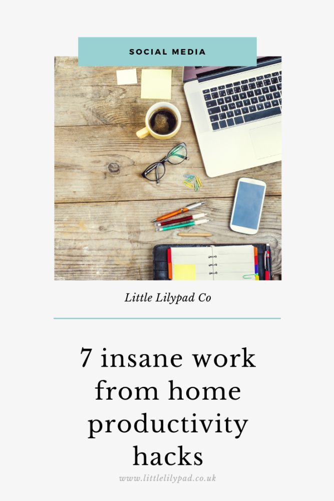 PIN - 7 insane work from home productivity hacks (1)