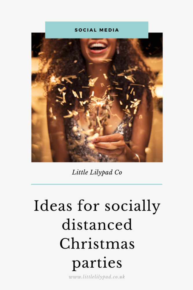 PIN - Ideas for socially distanced Christmas parties