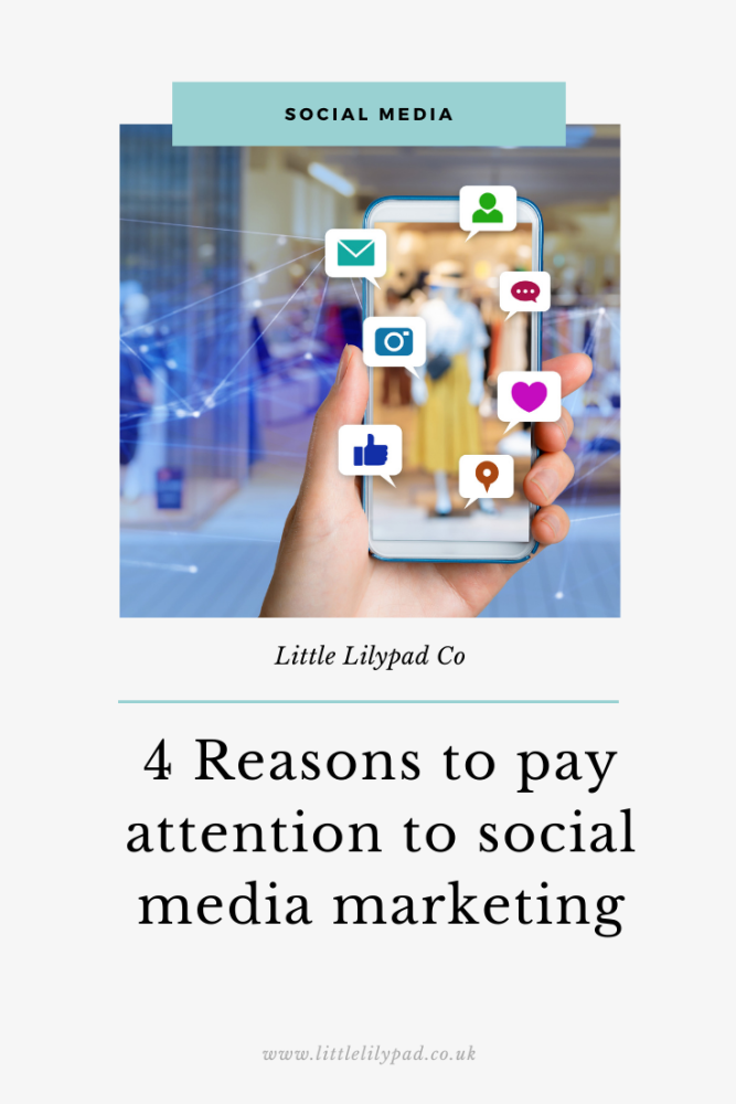 PIN - 4 Reasons to pay attention to social media marketing