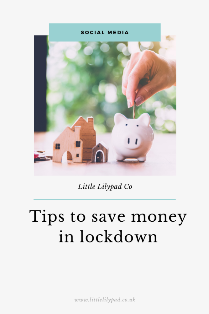 PIN - Tips to save money in lockdown