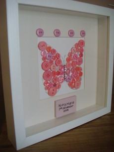 Keepsake Box Frame Personalised Picture Wall Art