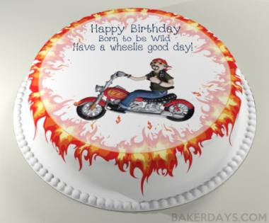 Can I get a birthday cake on a next day delivery Baker Days