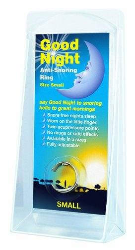 Good Night Anti Snoring Ring image