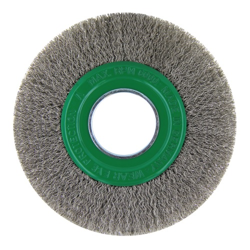 Stainless Steel Wire Brushes for Bench Grinders