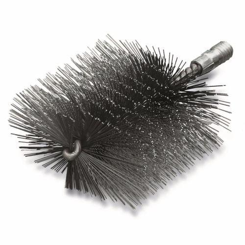 <!-- 25 -->Steel Wire Boiler Brush 30mm - 80mm x W1/2