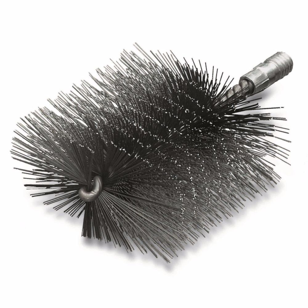 <!-- 40 -->Steel Wire Boiler Brush 50mm - 120mm x W1/2