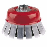 Twist Knot Wire Cup Brush 100mm x M14
