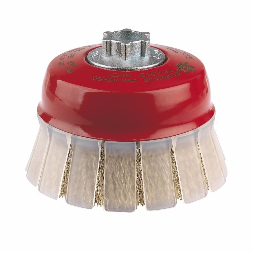 <!-- 006 -->Steel Wire Cup Brush 75mm x M14