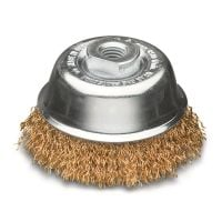 Brass Wire Cup Brush 60mm (Industrial Spec)