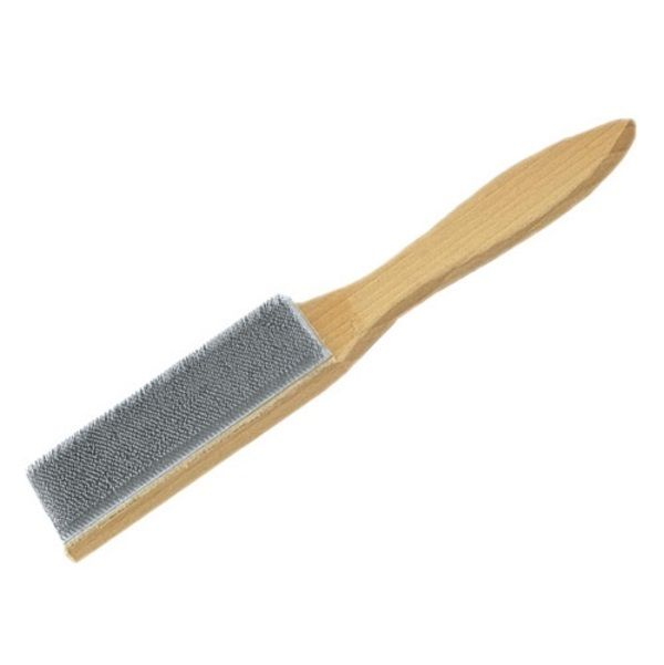 <!-- 010 -->File Cleaner with Hardwood Handle