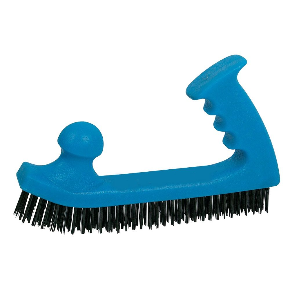 <!-- 055 -->Steel Wire Brush with Easy Grip Handle