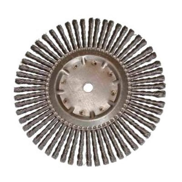 <!-- 015 -->Joint Cleaning Wire Brush 300mm x 8mm width x 20mm Bore