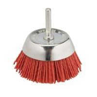 Nylon Filament Cup Brush 75mm with 6mm Arbor