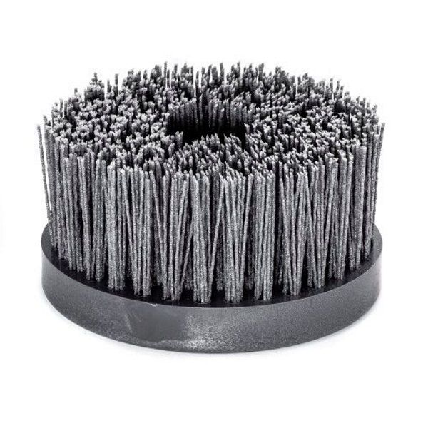 <!-- 020 -->Abrasive Nylon Disc Brush 130mm x M14