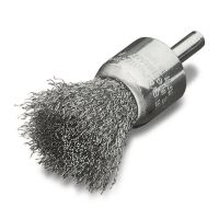 <!-- 008 -->Stainless Steel Wire End Brush 23mm with 6mm Arbor