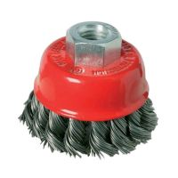 Twist Knot Wire Cup Brush 65mm x M14