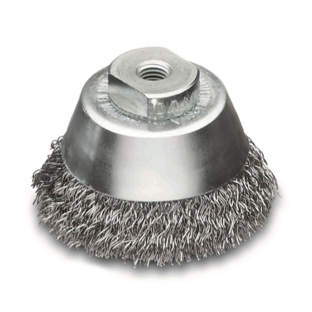 <!-- 012 -->Steel Wire Cup Brush 60mm x M14