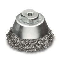 <!-- 020 -->Steel Wire Cup Brush 75mm x M10 1.25