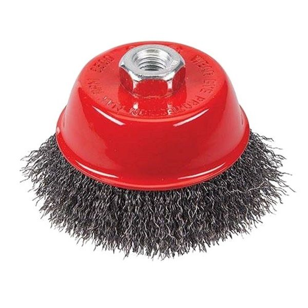 <!-- 015 -->Steel Wire Cup Brush 65mm x M14