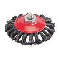 Twist Knot Wire Bevel Brush 100mm x M14