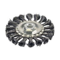 Twist Knot Wire Wheel 100mm x M14
