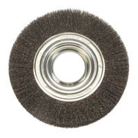 Rotary Wire Brush 200mm (Industrial Spec)