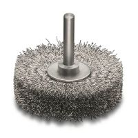 Extra Fine Steel Wire Wheel Brush 60mm