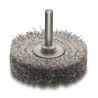 Extra Fine Steel Wire Wheel Brush 60mm