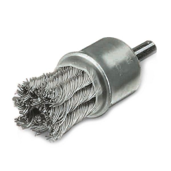 <!-- 057 -->Twist Knot Wire End Brush 22mm (Industrial Specification)