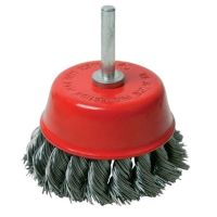 Twist Knot Wire Cup Brush 75mm