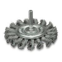 <!-- 070 -->Twist Knot Wire Wheel 75mm (Industrial Specification)