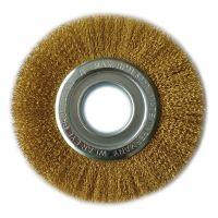 Brass Rotary Wire Brush 125mm
