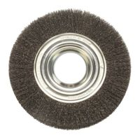 Rotary Wire Brush 200mm - Extra Wide (Industrial Spec)